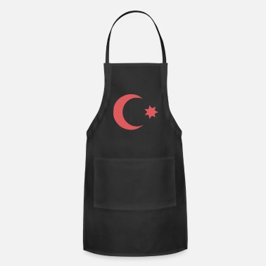 Ottoman Empire - Country Flag - Sultan Dynasty - Apron