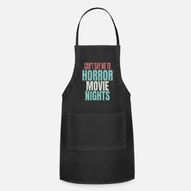 Horor Horor Movie Fan - Apron