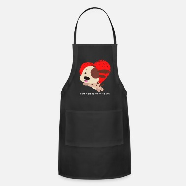 Take care of his little dog It is an ideal produc - Apron