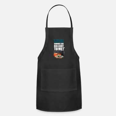 Liar IF IT AIN T ABOUT MONEY SOUNDS LIKE - Adjustable Apron