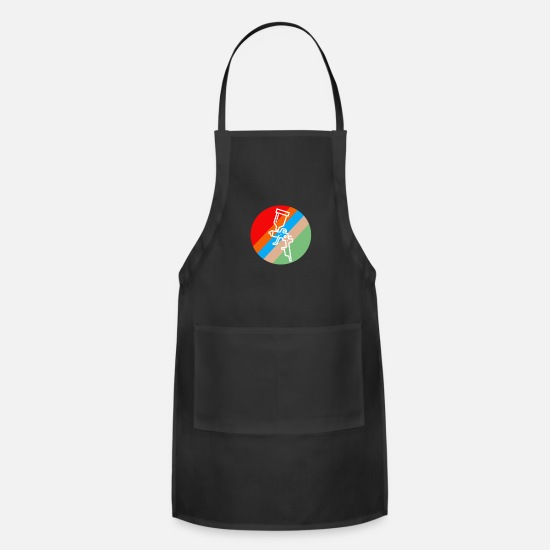 Training Aprons - Painter retro - Apron black