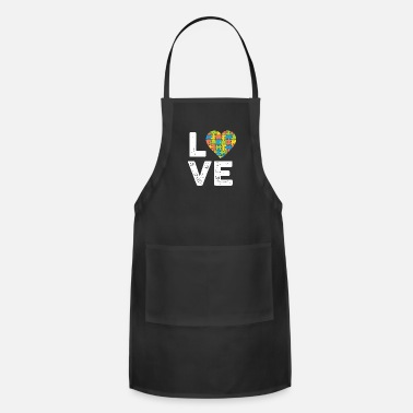 Cube Love of the Puzzle - Apron