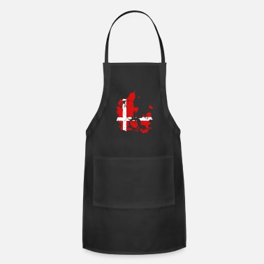 Baltic Sea Denmark Copenhagen gift Baltic danish - Adjustable Apron