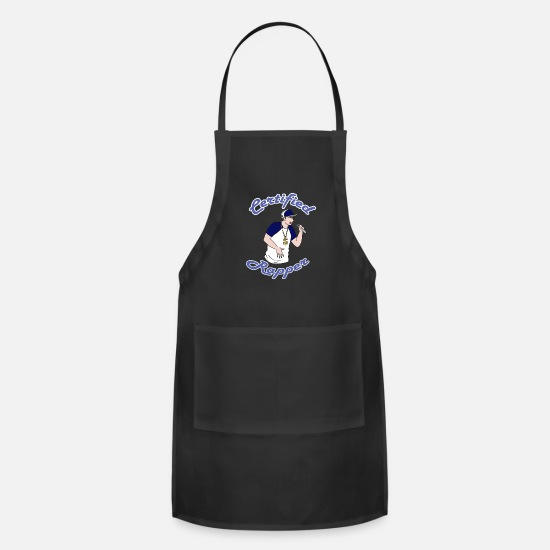 Rap Aprons - Rap Music - Apron black