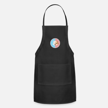 Bright Colors Cat and Dog Head - Apron