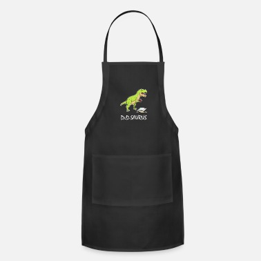 Dungeons And Dragons DnD Dinosaurs Comic Pen and Paper Gift Nerd - Adjustable Apron