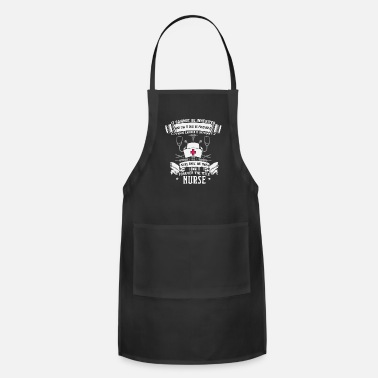 Blood Profession Nurse Title Cool Gift - Adjustable Apron