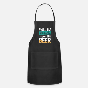 Inspector Airplane Reason To Fix Alcohol Funny Gift - Adjustable Apron