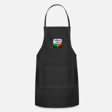 Gay Pride Have a Wonderful Gay Christmas LGBT - Adjustable Apron