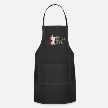 Unicorn Unicorn Unicorn Funny Animal Gift Fabulous Horse - Adjustable Apron