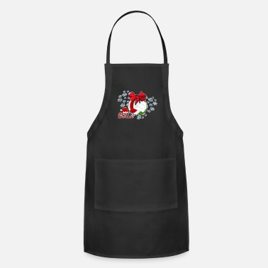 A X Merry Christmas X-Mas XMas - Adjustable Apron