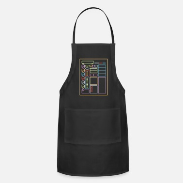 Roleplaying Game Dnd Character Sheet - Adjustable Apron