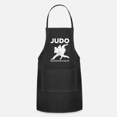 Judo Judo Touch Me the First Lesson's Free Martial Arts - Adjustable Apron