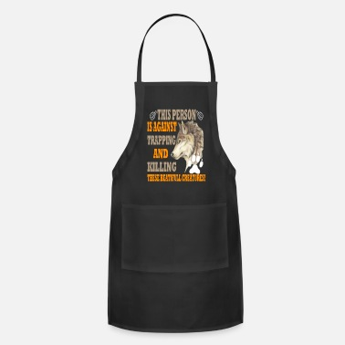 WOLF THESE BEAUTIFUL CREATURES - Adjustable Apron