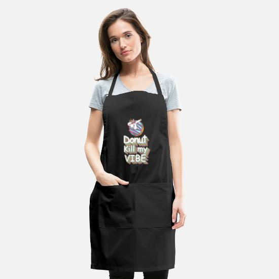 Dinosaur Novelty Apron Kitchen Cooking Dont Kill My Vibe