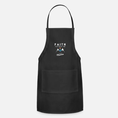 Mountains Christian Quote - Adjustable Apron