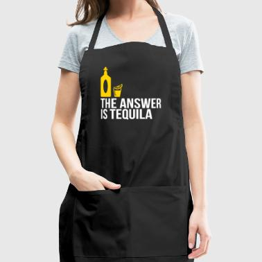 The Answer Is Tequila - Adjustable Apron