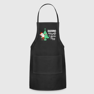 DABBING AROUND THE TREE - Adjustable Apron