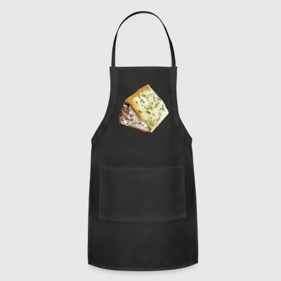 kaese cheese pizza sandwich maus mouse food100 - Adjustable Apron