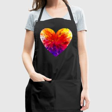 Cute Love Shirt Gift Idea for men and women - Adjustable Apron