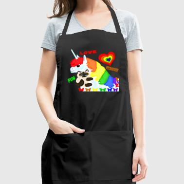 Love, Friendship, Fun - Adjustable Apron