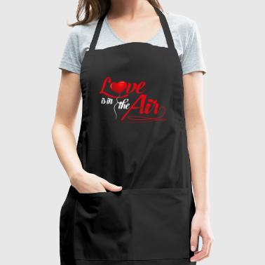 VALENTINE'S DAY Love is in the Air - Adjustable Apron