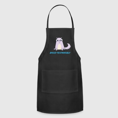 Gen 9 Breed responsibly Blue Straight - Adjustable Apron