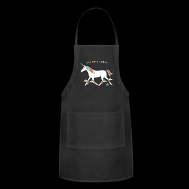 Uni Knee Corns Unicorn Outline - Adjustable Apron