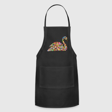 Rainbow Swan - Adjustable Apron