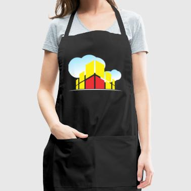 Building In The Clouds - Adjustable Apron