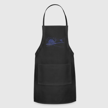 mountain line drawings - Adjustable Apron