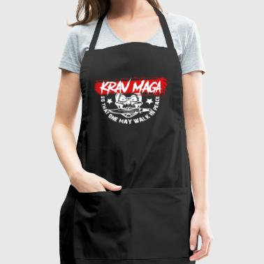 Krav Maga So That One May Walk In Peace - Adjustable Apron