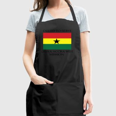 Ghana Accra West LDS Mission Called to Serve - Adjustable Apron