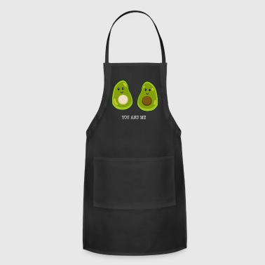 Avocado Love You and Me / Gift Idea - Adjustable Apron