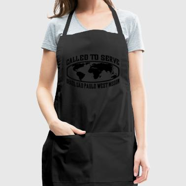 Brazil Sao Paulo West Mission - LDS Mission CTSW - Adjustable Apron