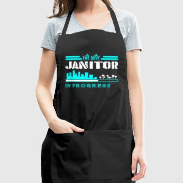 The Best Janitor In Progress - Adjustable Apron