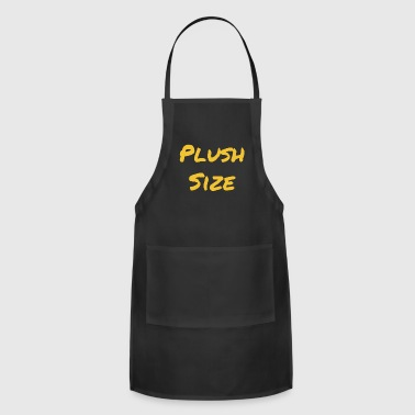 Plush Size - Adjustable Apron