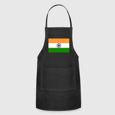 India country flag love my land patriot - Adjustable Apron