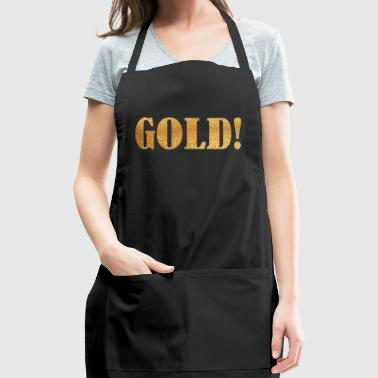 Gold Word - Adjustable Apron