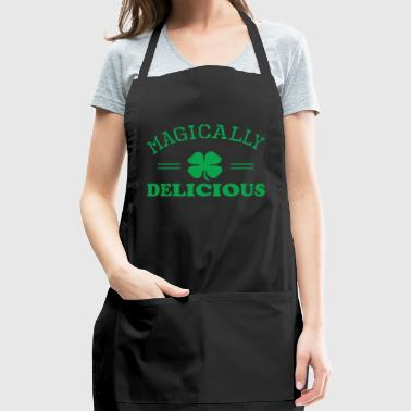 Magically Delicious Saint Patricks Day - Adjustable Apron