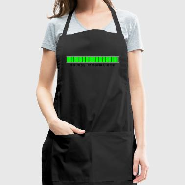 99.9% Download Complete - Adjustable Apron