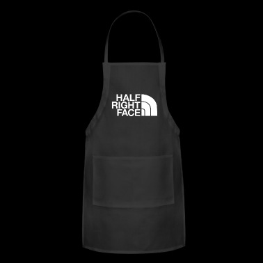 half right face - Adjustable Apron