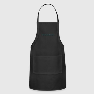 One Hundred Percent (green) - Adjustable Apron