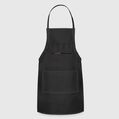 Geriatric nurse enjoy the job gift - Adjustable Apron