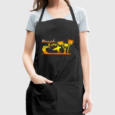 beach life holiday surfing - Adjustable Apron