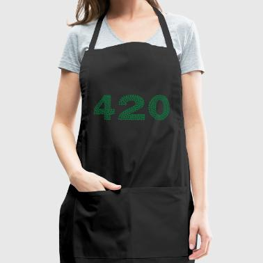 420 Marijuana - Adjustable Apron