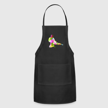 Colorful Karate Jump - Adjustable Apron