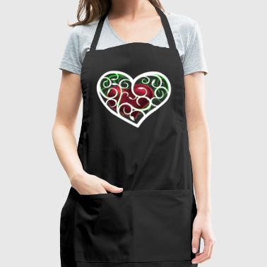 Heart ornamental - Adjustable Apron