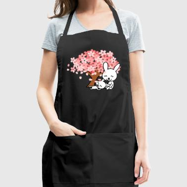 baby bunny & his mother - Adjustable Apron