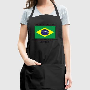 Brazil Sao Paulo North LDS Mission Called to Ser - Adjustable Apron